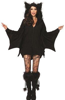 h Erwachsene Damen Kostüm Reißverschluss Vorne Fleece Kostüm (Gemütliche Kostüme)