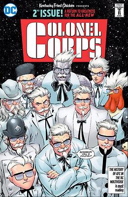 DC KFC: The Colonel Corps #2 Infinite Crisis San Diego Comic Con SDCC 2016