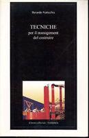B. Naticchia - Tecnique Per Il Management Del Costruire -  - ebay.it
