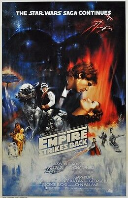 "Star Wars Episode V The Empire Strikes Back ART Movie POSTER 36x24"""