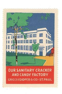 Poster Stamp, Factory, Griggs Cooper, St. Paul, Minnesota, MH - $2.99