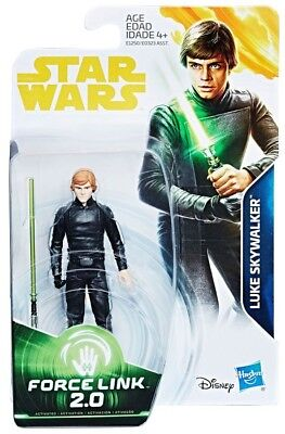 Star Wars Force Link 2.0 Luke Skywalker (Jedi Knight) 3 3/4-Inch Action Figure - Luke Skywalker Child