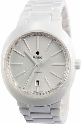 Rado Men's R15964012 D-Star Analog Display Swiss Automatic White Watch