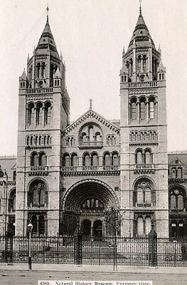 United Kingdom London Londres Natural History Museum Gate Old Photo (Londres Natural)