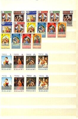 [OP7661] Worldwide lot of stamps on 12 pages