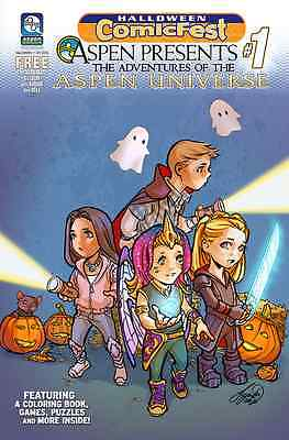 Halloween Promotional Giveaways (HALLOWEEN COMICFEST HCF 2016 ASPEN PRESENTS 1 GIVEAWAY PROMO NM)