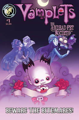 VAMPLETS BEWARE BITMARES ONE SHOT #1 COVER B MIDDLETON VARIANT ACTION LAB COMICS for sale  Shipping to Canada