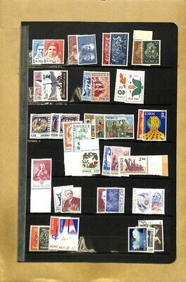 [OP7727] Worldwide lot of stamps on 12 pages