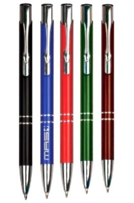 Personalized Trimmed Ballpoint Pen - YOU CHOOSE TEXT and COLOR!](Personalized Pen)