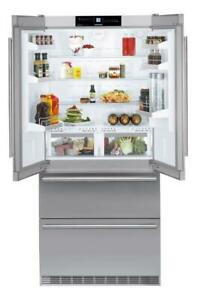 Liebherr French Door Refrigerator CBS2062 36in Clearance WQL MSRP: $9,699.00 Clearance Sale Price: CA$6,434.27