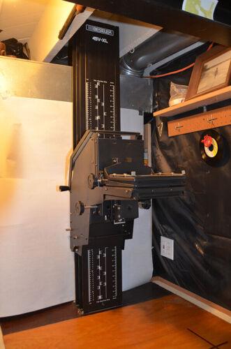 Beseler 45v-xl Enlarger Chassis w/Baseboard