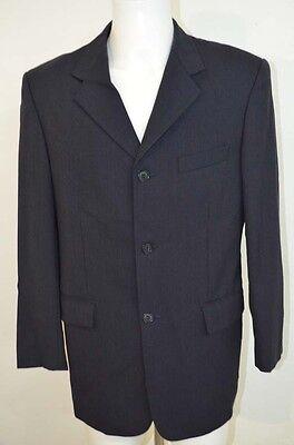 YVES SAINT LAURENT YSL VESTE COSTUME SUIT 52 T52 XL BLEU (Veste Costume Bleu)