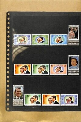 [OP7772] Worldwide lot of stamps on 12 pages