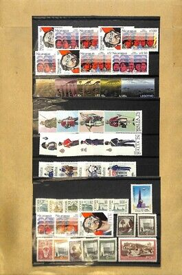 [OP7607] Worldwide lot of stamps on 12 pages