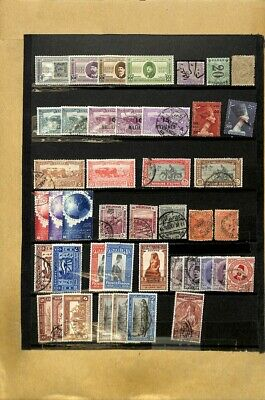 [OP7723] Worldwide lot of stamps on 12 pages