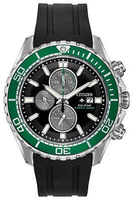 Citizen Eco-Drive Promaster Diver Men's Chronograph 46mm Watch CA0715-03E