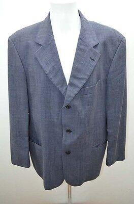 HUGO BOSS VESTE HOMME COSTUME 54 T54 XL BLEU / 1 (Veste Costume Bleu)