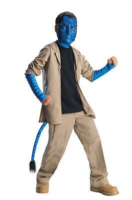 Boys DELUXE JAKE SULLY Costume Pants Jacket Mask Child Medium 8 10 Avatar Sulley - Boys Sully Costume