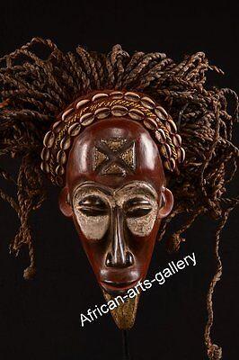 1564 Rastamaske der Chokwe DR Kongo / Congo Afrika