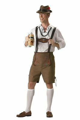 Erwachsener Mann Halloween Kostüme (Oktoberfest Mann Elite Sammlung Erwachsene Herren-Kostüm Hänsel Beer Halloween)