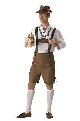 te Sammlung Erwachsene Herren-Kostüm Hänsel Beer Halloween (Hänsel Kostüm)
