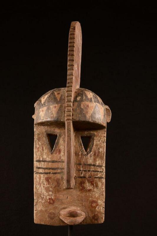 9490 An Old African Dogon Mask Mali