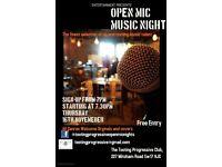 Open Mic Night - Hosted ny Alexander Nye
