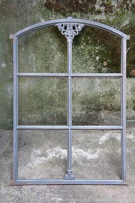 Gussfenster roh Stallfenster mit Bogen 76x52 Fe2201r