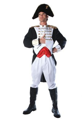 Napoleon Adult Mens Costume Book Character Military Party Medieval Halloween](Halloween Book Character Costumes)