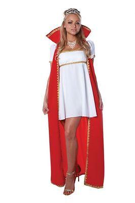 Halloween Costumes France (SEXY JOSEPHINE EMPRESS OF FRANCE ADULT HALLOWEEN COSTUME WOMEN'S SIZE)