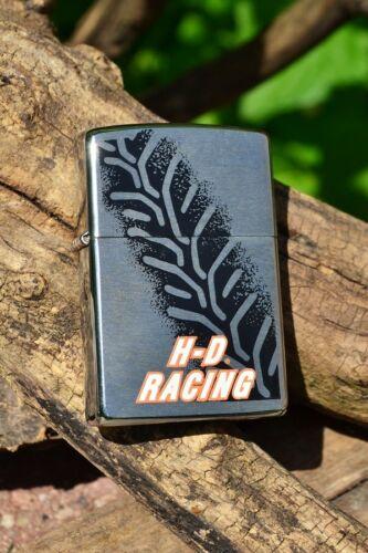 Zippo Lighter - Harley Davidson - Tire Track - H-D Racing - Tread - # 200HD H290