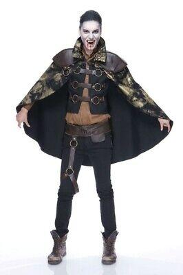 Schatten Pirschjäger Erwachsene Herren-Kostüm Umhang Weste Berühmt - Kostüm Berühmt