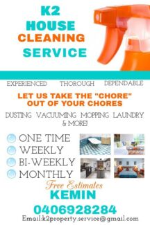 home cleaning ads