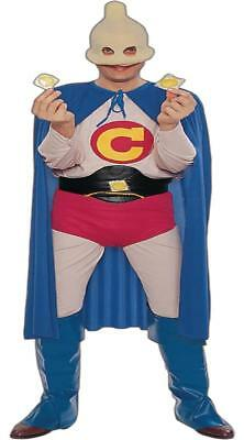 Captain Condom Halloween Costume (ADULT CAPTAIN CONDOM COSTUME FUN PARTY)