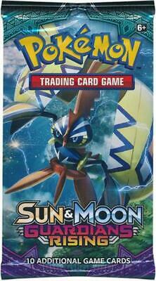 Sun & Moon Guardians Rising Booster Pack (Pokemon) New Pokemon 3DY