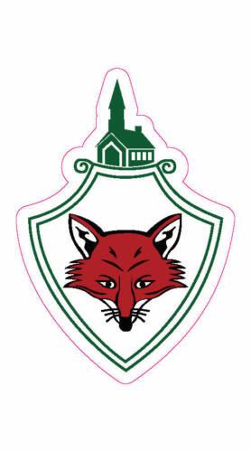"""Fox Chapel Golf Club Logo Decal - 2"""" x 3"""""""