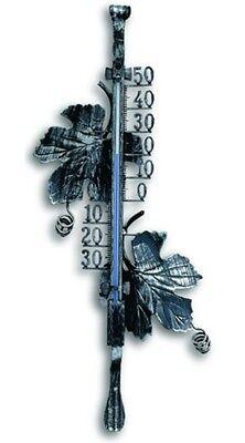 Thermometer  Schmiedeeisern Innen Aussen Garten- Zimmerthermometer 12.5004