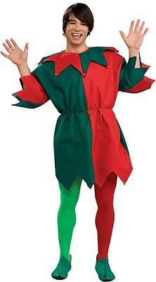 Adulte Noël Lutin Tunique de PÈRE NOËL Helper - Kostüm De Lutin