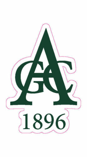 "Aronimink Golf Club Logo Decal - 2"" x 3"""