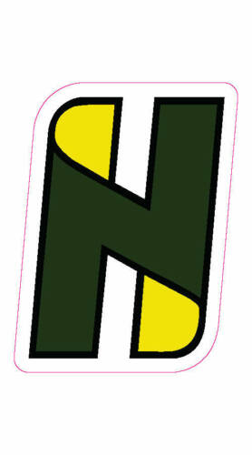 "Hudson National Golf Course Logo Decal - 2"" x 3"""