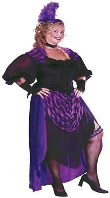 LADY MAVERICK SALOON DANCER WESTERN COSTUME XXL FW5734