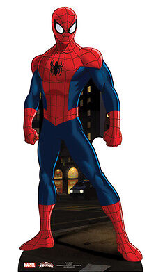 Spider-Man Lifesize CARDBOARD CUTOUT Standee Standup Ultimate Amazing Marvel - Spiderman Cutout
