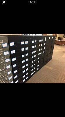Index Card File Cabinet