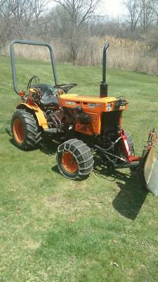 Kubota B7100hst 4x4 Diesel Tractor With Plow Blade