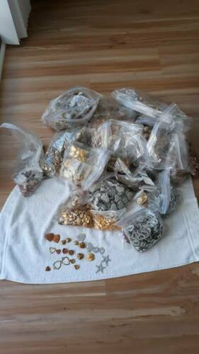 huge lot of over 50 lbs of charms
