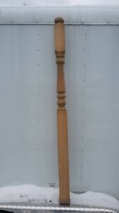 Stair baluster spindles newel posts