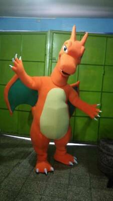 Charizard Pokemon Mascot Costume
