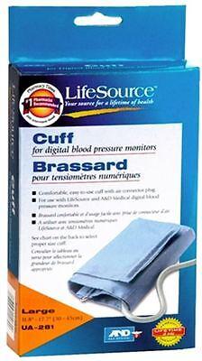LifeSource Digital Blood Pressure Cuff Large UA-281 1 Each