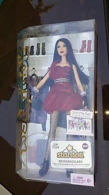 Stardoll Barbie Fallen Angel Nrfb Red Black Hair Rooted Eyelashes W2202 2011