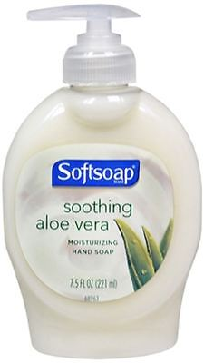 Moisturizing Hand Soap w/Aloe, Liquid, 7.5oz Pump, 1 Each